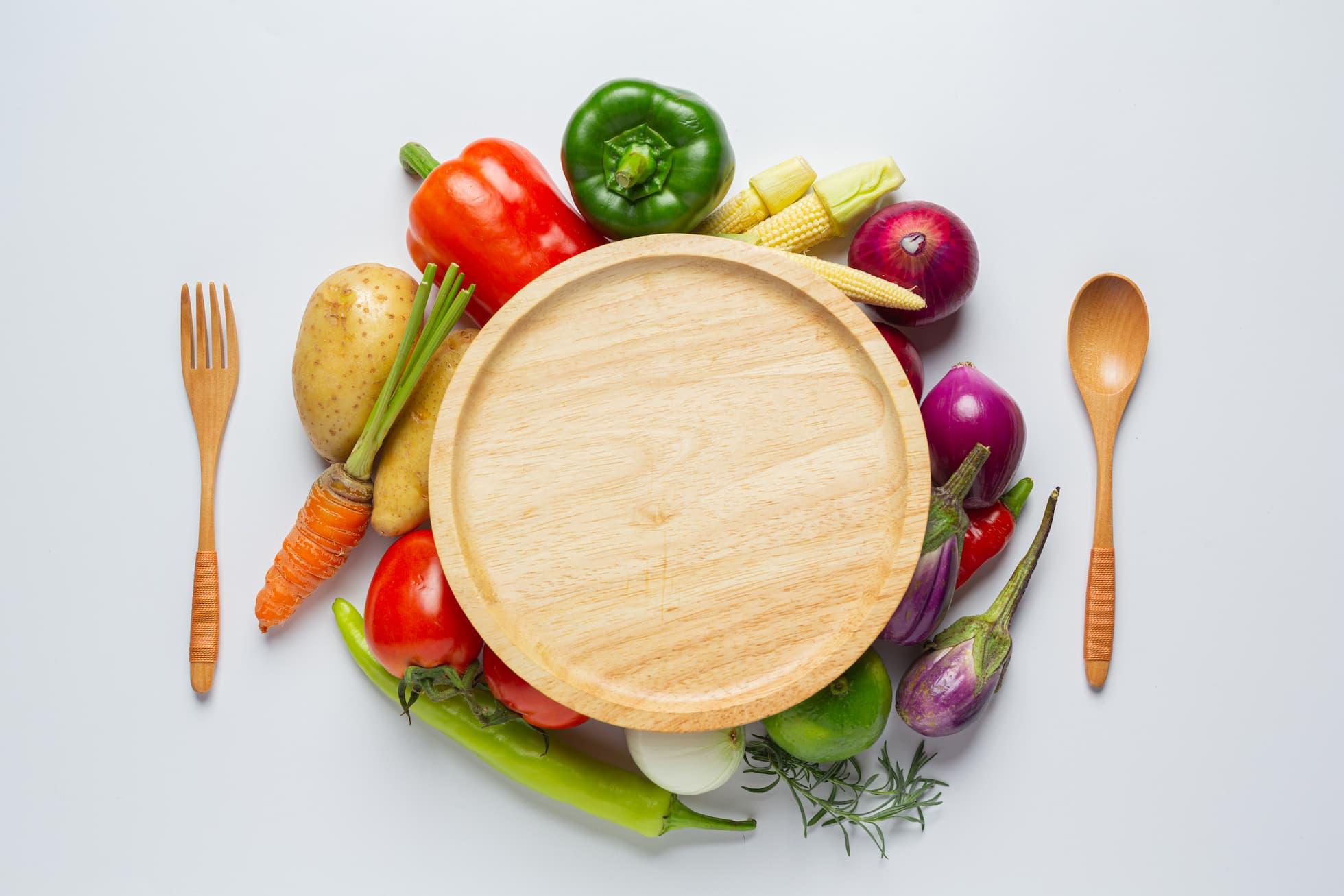 Warzywa z cateringu dla diabetyków